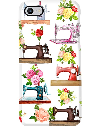 Many Flower Sewing Machines