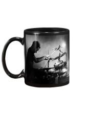 Drummer Man Playing Drums Mug back