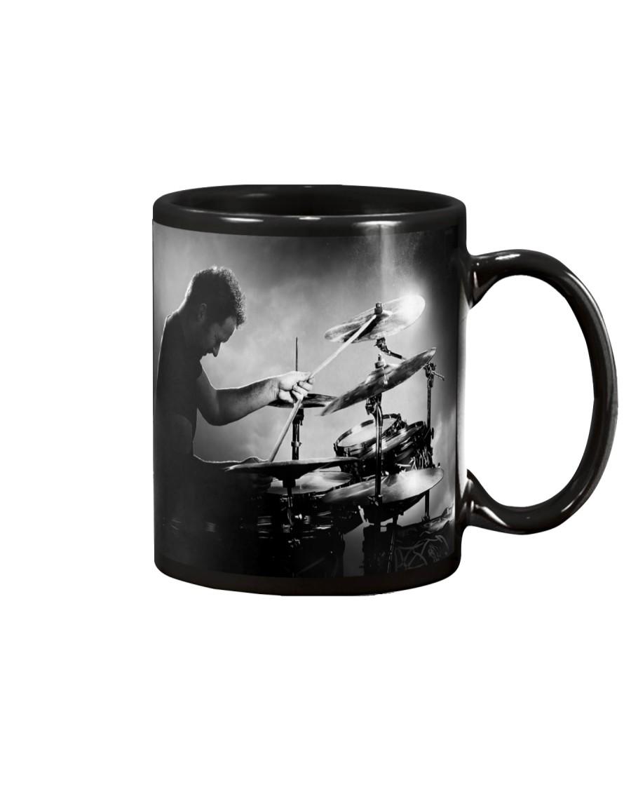 Drummer Man Playing Drums Mug