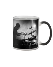 Drummer Man Playing Drums Color Changing Mug thumbnail
