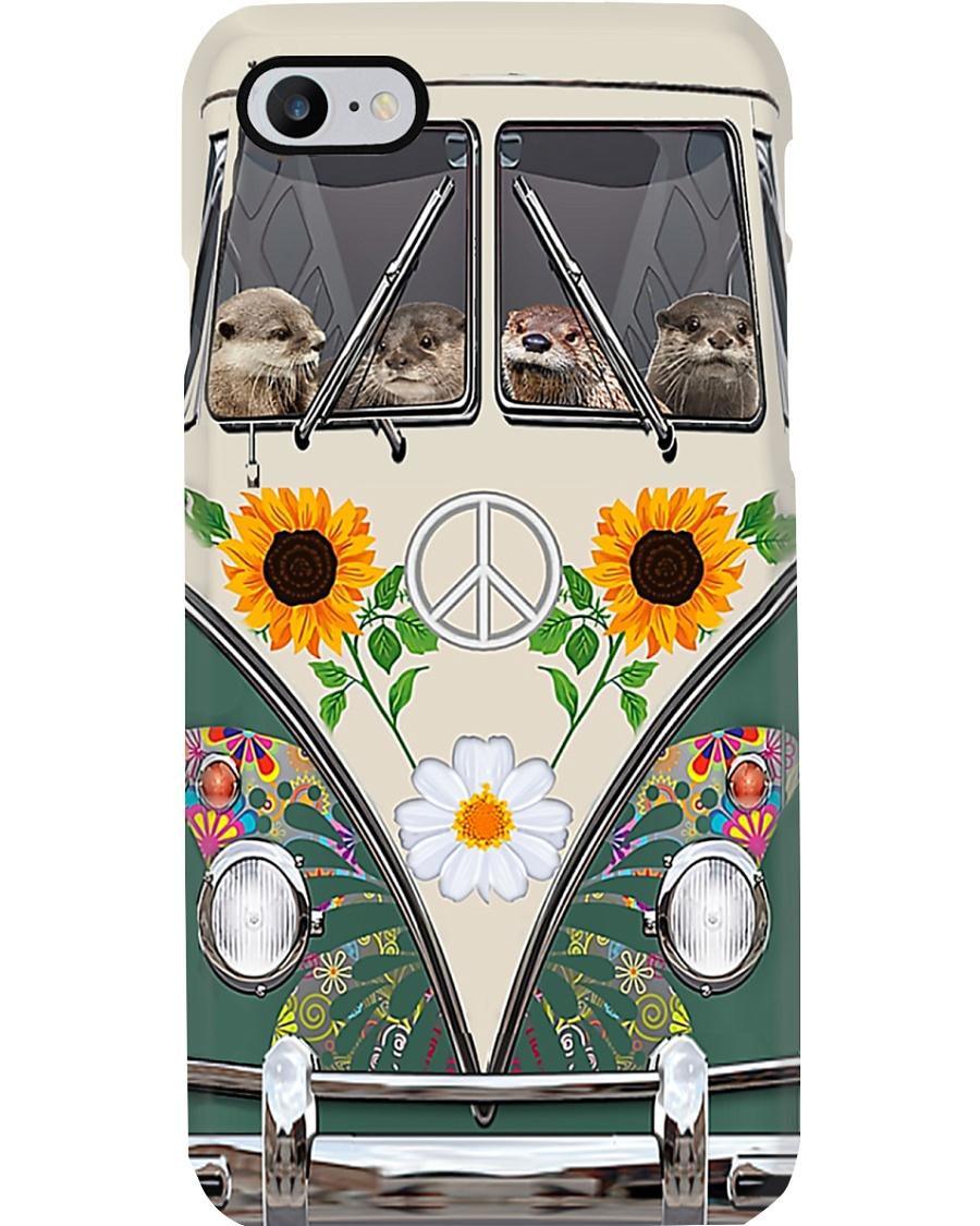 Otter Sunflower Bus Phone Case