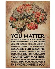 Social Worker You Matter That The World Needs You 11x17 Poster front