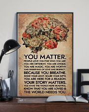 Social Worker You Matter That The World Needs You 11x17 Poster lifestyle-poster-2