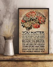 Social Worker You Matter That The World Needs You 11x17 Poster lifestyle-poster-3