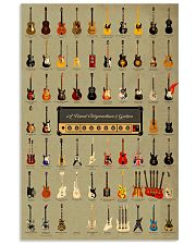 World Of Guitars 11x17 Poster front