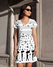 Pianist Keys All-over Dress aos-dress-front-lifestyle-1
