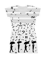 Pianist Keys All-over Dress front