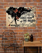 Hairdresser Beauty Comes From Inside 36x24 Poster poster-landscape-36x24-lifestyle-20
