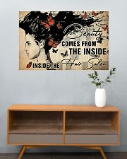 Hairdresser Beauty Comes From Inside 36x24 Poster poster-landscape-36x24-lifestyle-21