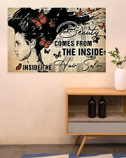 Hairdresser Beauty Comes From Inside 36x24 Poster poster-landscape-36x24-lifestyle-22