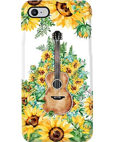 Guitar Sunflowers