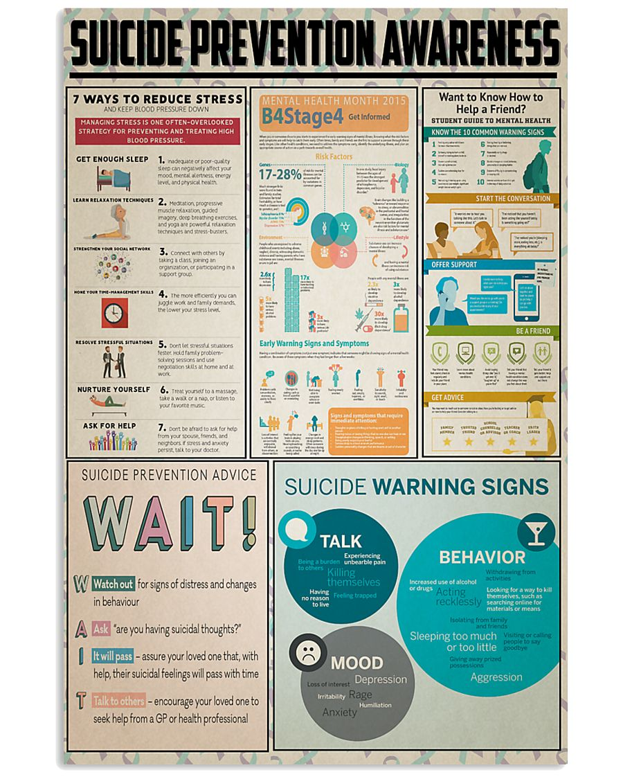 Suicide Prevention Awareness 11x17 Poster