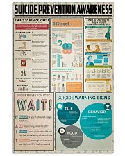 Suicide Prevention Awareness 11x17 Poster front