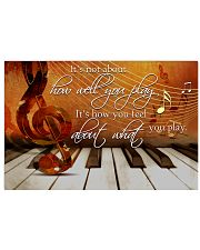 Pianist It's How You Feel About What You Play 36x24 Poster front
