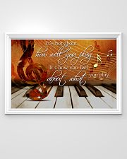 Pianist It's How You Feel About What You Play 36x24 Poster poster-landscape-36x24-lifestyle-02