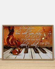 Pianist It's How You Feel About What You Play 36x24 Poster poster-landscape-36x24-lifestyle-03