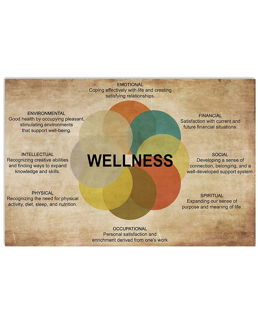 Social Worker Wellness 17x11 Poster