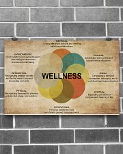 Social Worker Wellness 17x11 Poster poster-landscape-17x11-lifestyle-18