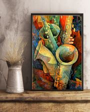 Saxophones and bass 11x17 Poster lifestyle-poster-3