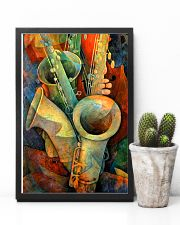 Saxophones and bass 11x17 Poster lifestyle-poster-8