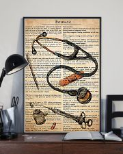Paramedic Text  11x17 Poster lifestyle-poster-2
