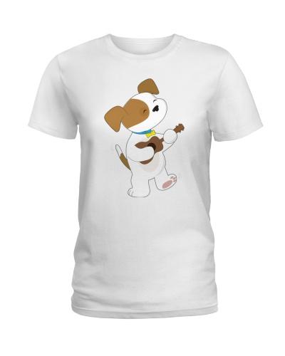 Ukulele Cute Puppy Dog