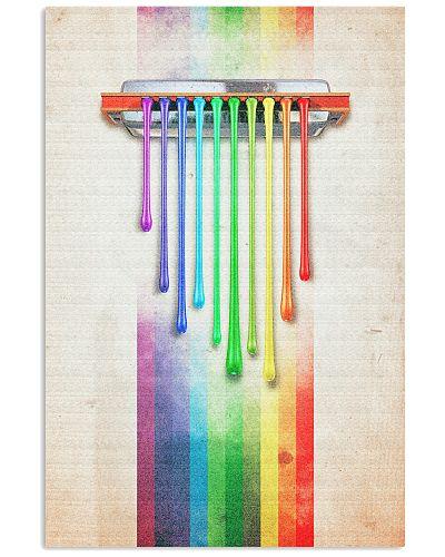 Harmonica Colorful Art