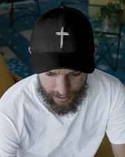 Drummer Sticks Embroidered Hat garment-embroidery-hat-lifestyle-06