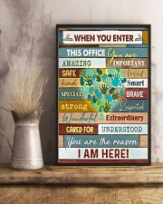 Massage Therapist  When you enter this office 11x17 Poster lifestyle-poster-3