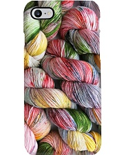 Crochet and Knitting Twist Yarn Phone Case tile
