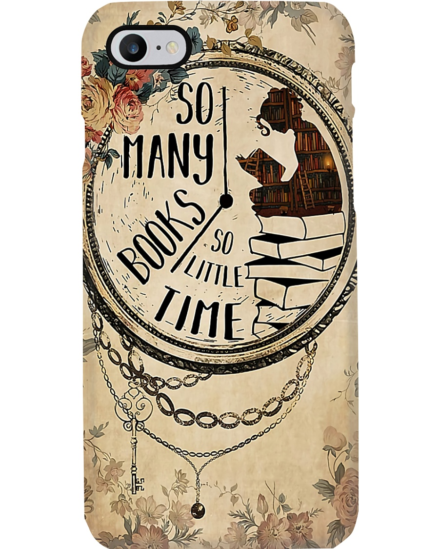 Librarian So Many Books So Little Time Phone Case