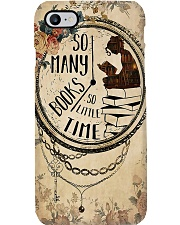 Librarian So Many Books So Little Time Phone Case i-phone-7-case