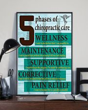 Chiropractor - 5 phases of chiropractic care 11x17 Poster lifestyle-poster-2