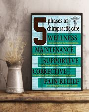 Chiropractor - 5 phases of chiropractic care 11x17 Poster lifestyle-poster-3