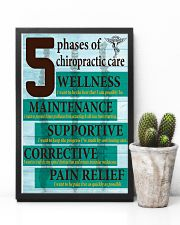 Chiropractor - 5 phases of chiropractic care 11x17 Poster lifestyle-poster-8