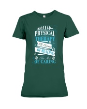 Physical Therapy Science of Healing Premium Fit Ladies Tee thumbnail