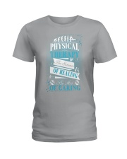 Physical Therapy Science of Healing Ladies T-Shirt thumbnail