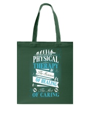 Physical Therapy Science of Healing Tote Bag thumbnail