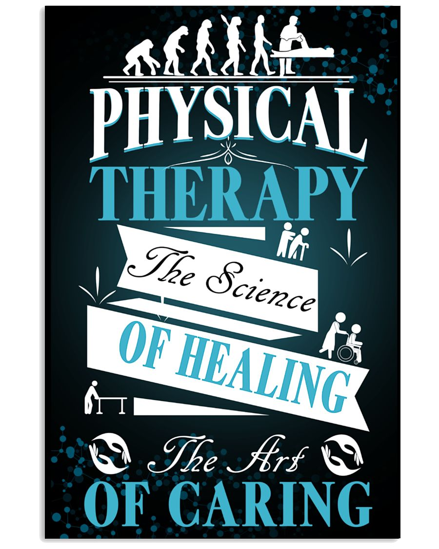 Physical Therapy Science of Healing 11x17 Poster