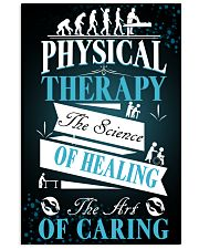 Physical Therapy Science of Healing 11x17 Poster front
