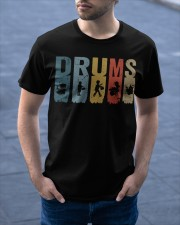 Drummer Vintage Classic T-Shirt apparel-classic-tshirt-lifestyle-front-46