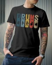 Drummer Vintage Classic T-Shirt lifestyle-mens-crewneck-front-6