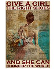 Ballet Dancer She Can Conquer The World  11x17 Poster front