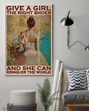 Ballet Dancer She Can Conquer The World  11x17 Poster lifestyle-poster-1