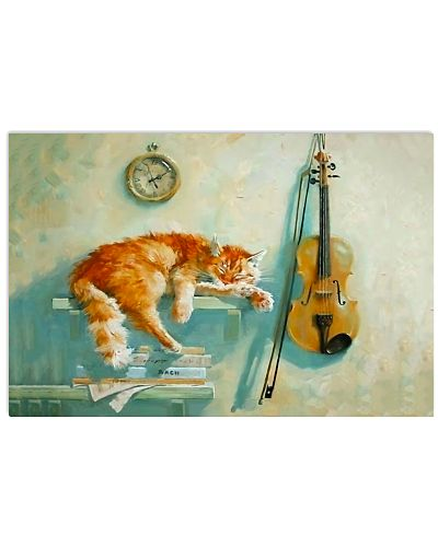 Violin And Cat