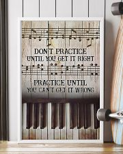 Piano Practice Until You Can't Get It Wrong 11x17 Poster lifestyle-poster-4