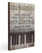 Piano Practice Until You Can't Get It Wrong 20x30 Gallery Wrapped Canvas Prints thumbnail