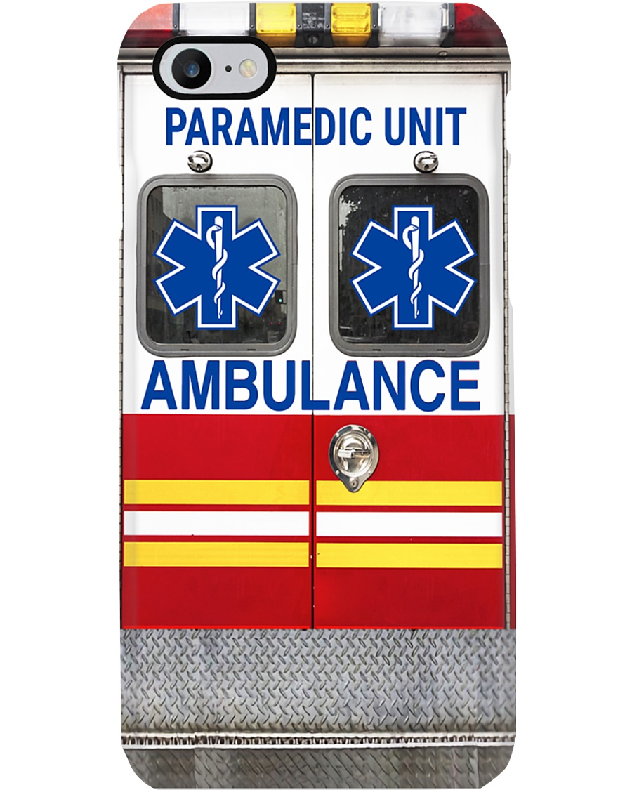 Paramedic Unit Ambulance Phone Case
