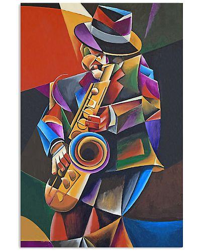 Saxophone Art Man