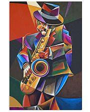 Saxophone Art Man  11x17 Poster front